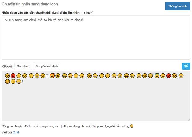Soi tường tận công cụ dịch Emoji sang tiếng Việt, cái kết buồn cho kỷ nguyên trà xanh và những kẻ lươn lẹo - Ảnh 4.