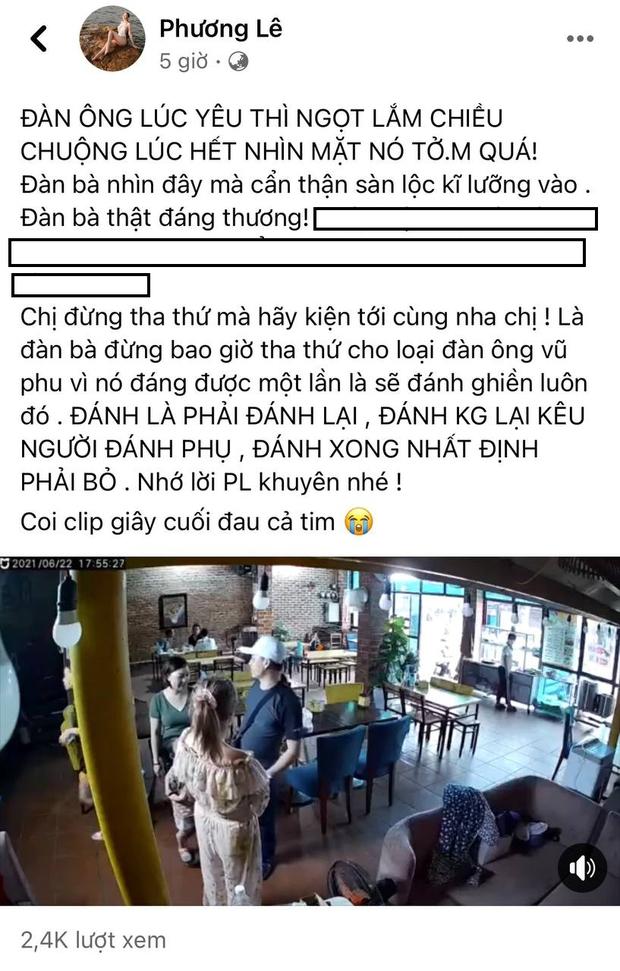 Hoa hậu Phương Lê và Trang Trần phẫn nộ khi thấy cô Xuyến Hoàng Yến bị chồng cũ đánh, ủng hộ nữ diễn viên chơi tới bến - Ảnh 2.