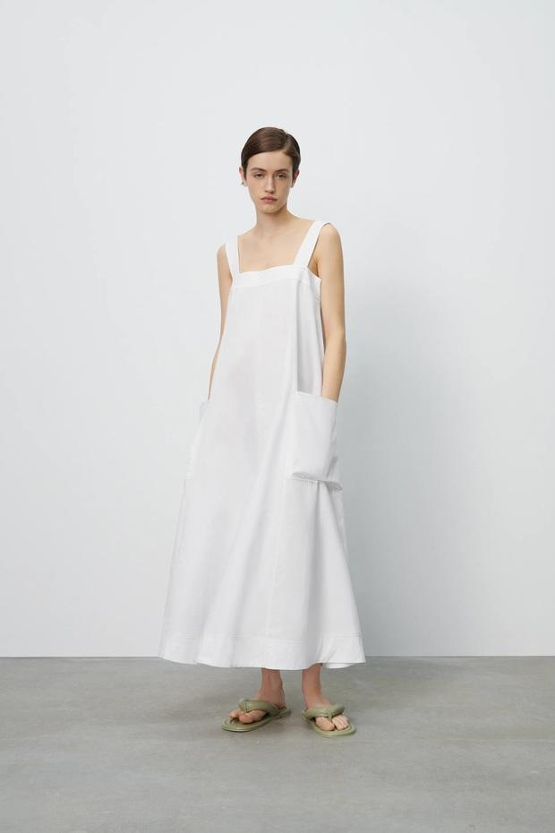 """Hà Hồ - Lệ Quyên """"đại chiến"""" váy Zara siêu dễ mặc, lại đang được sale chị em mua theo ngon ơ - Ảnh 4."""