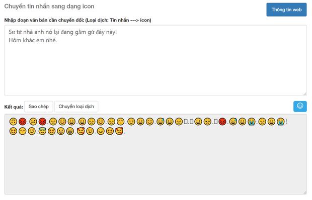 Soi tường tận công cụ dịch Emoji sang tiếng Việt, cái kết buồn cho kỷ nguyên trà xanh và những kẻ lươn lẹo - Ảnh 6.