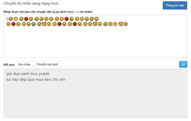 Soi tường tận công cụ dịch Emoji sang tiếng Việt, cái kết buồn cho kỷ nguyên trà xanh và những kẻ lươn lẹo - Ảnh 8.