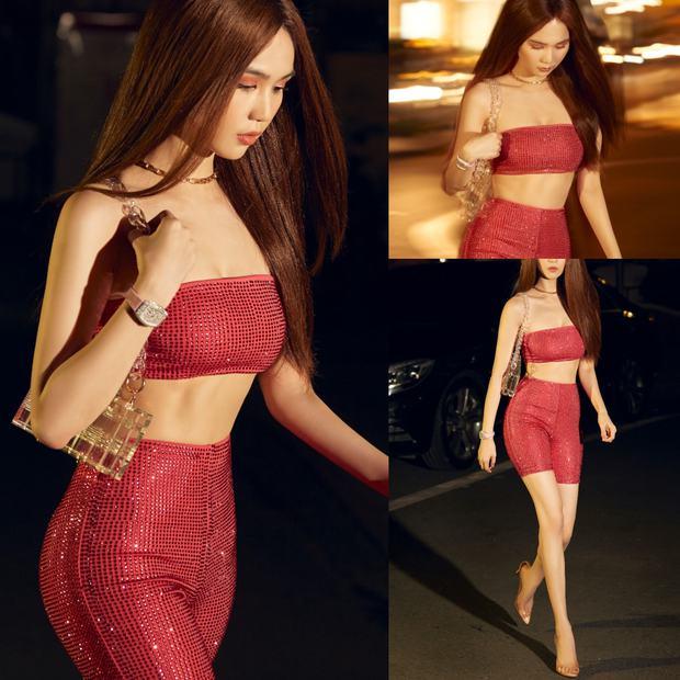Nghiện màu hồng nhưng Ngọc Trinh có 1 cơ số pha... sấp mặt vì outfit sến sẩm, chỉ có đúng 6 lần là ổn nhất! - Ảnh 4.