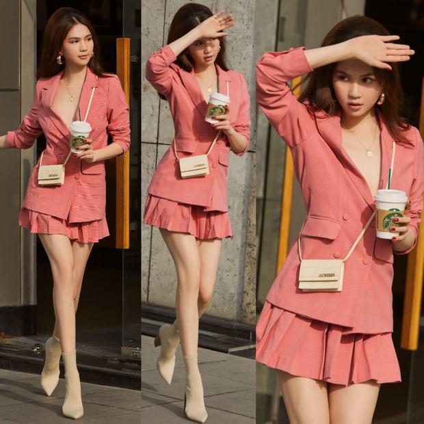 Nghiện màu hồng nhưng Ngọc Trinh có 1 cơ số pha... sấp mặt vì outfit sến sẩm, chỉ có đúng 6 lần là ổn nhất! - Ảnh 5.