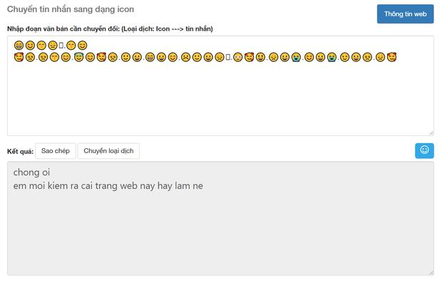 Soi tường tận công cụ dịch Emoji sang tiếng Việt, cái kết buồn cho kỷ nguyên trà xanh và những kẻ lươn lẹo - Ảnh 10.