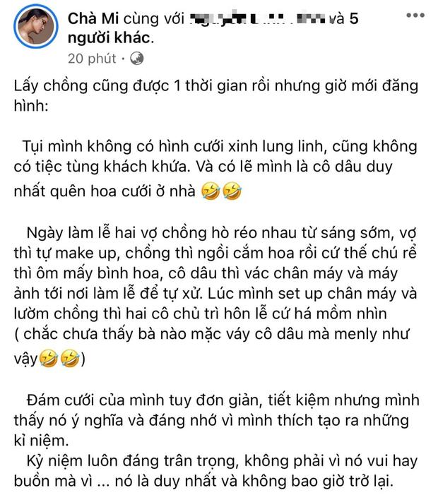 Chà Mi khoe ảnh cưới, TyhD liền vào ôn lại kỷ niệm cãi vã thời Vietnams Next Top Model! - Ảnh 1.