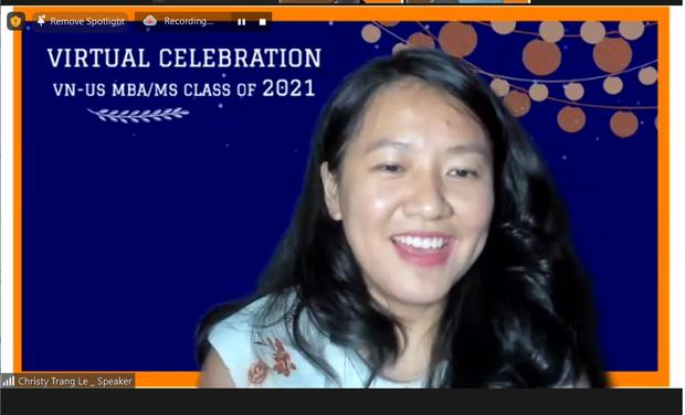 Buổi lễ tốt nghiệp độc đáo của Thạc sĩ Việt tại Mỹ: Toàn khách mời khủng, lắng nghe bí quyết thành công từ cựu Giám đốc Facebook - Ảnh 3.