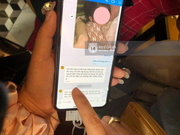 Hé lộ tin nhắn chồng cũ gửi Cô Xuyến Hoàng Yến sau cú đấm dã man, chi tiết ám chỉ nữ diễn viên thủ đoạn gây chú ý - Ảnh 3.