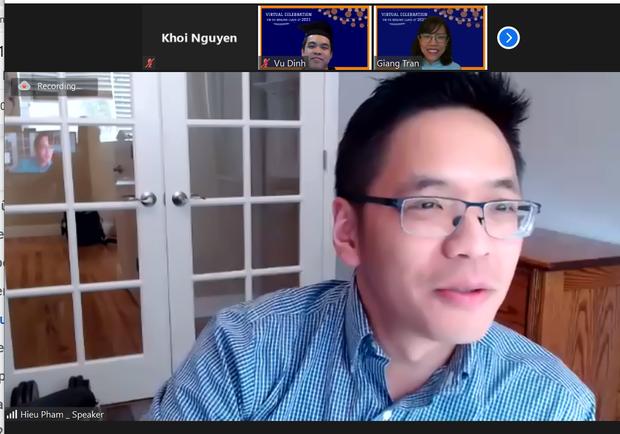 Buổi lễ tốt nghiệp độc đáo của Thạc sĩ Việt tại Mỹ: Toàn khách mời khủng, lắng nghe bí quyết thành công từ cựu Giám đốc Facebook - Ảnh 4.