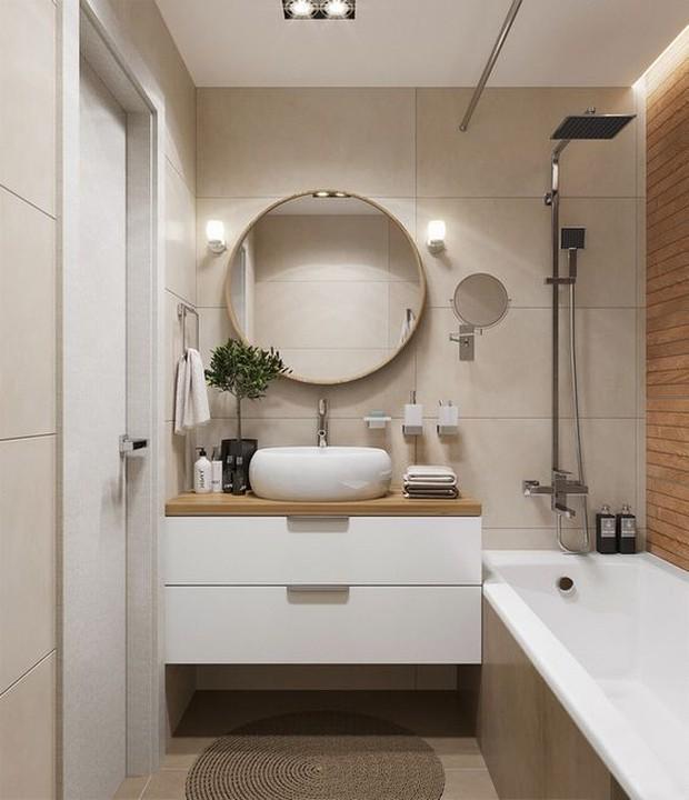 Muốn phòng tắm sang như spa không khó, chỉ cần ngó qua 8 mẹo ăn liền cực dễ này - Ảnh 11.