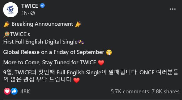 Còn thở là còn comeback: TWICE lại sắp phát hành single tiếng Anh, làm fan thở dài gọi JYP là quỷ hút máu idol - Ảnh 2.