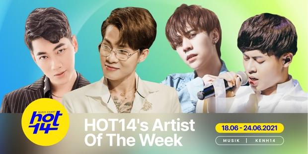 K-ICM bất ngờ bứt phá, sẵn sàng đánh bại Jack và Quang Hùng MasterD để giành lấy No.1 HOT14s Artist Of The Week? - Ảnh 1.