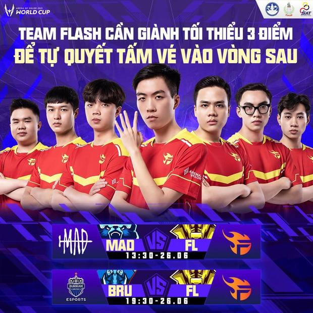AWC 2021: Kịch bản nào để Team Flash đi tiếp trước trận đấu sinh tử với Buriam United? - Ảnh 4.
