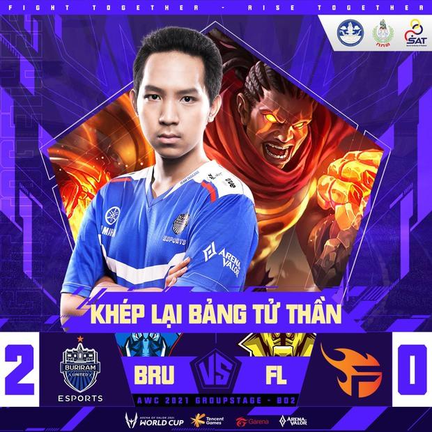 Team Flash chính thức bị loại khỏi AWC 2021, ngày buồn của Liên Quân Mobile Việt Nam - Ảnh 3.