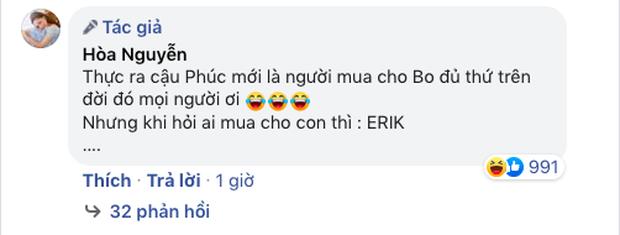 Được hỏi yêu cậu Đức Phúc hay Erik, câu trả lời chung thuỷ của bé Bo làm fan bật ngửa, Hòa Minzy còn tiết lộ sự thật động trời - Ảnh 6.