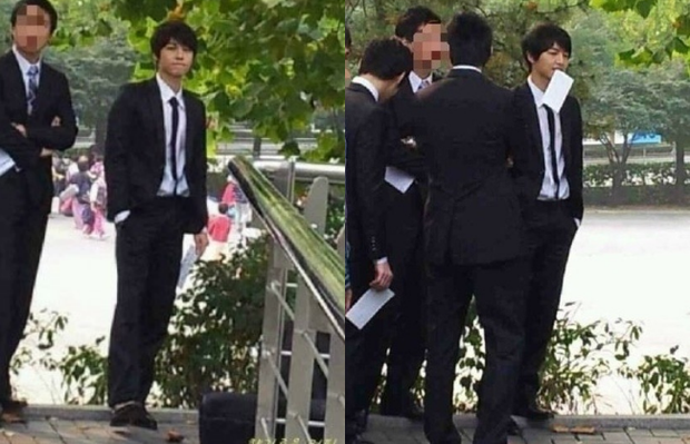 MXH náo loạn vì ảnh 1 nam thần trên bìa tạp chí trường đại học danh giá nhất Hàn Quốc: Học trưởng giờ thành tài tử rồi! - Ảnh 9.
