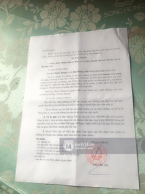 Độc quyền: Cô Xuyến Hoàng Yến lên tiếng khi bị tố ngoại tình, công bố giấy tờ ly hôn phản bác chồng thứ 4 - Ảnh 3.