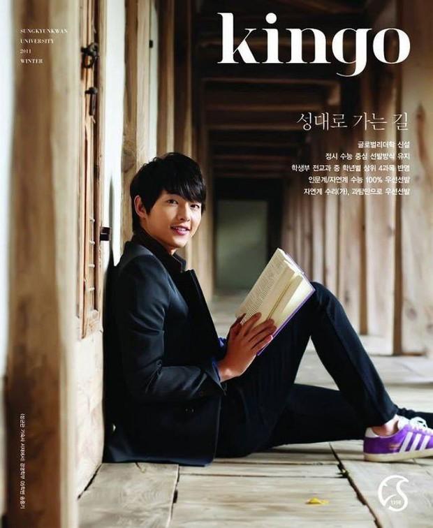 MXH náo loạn vì ảnh 1 nam thần trên bìa tạp chí trường đại học danh giá nhất Hàn Quốc: Học trưởng giờ thành tài tử rồi! - Ảnh 3.