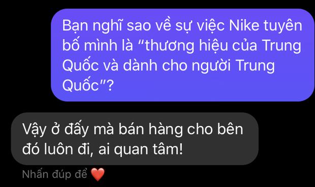 Nike bị tẩy chay sau tuyên bố là thương hiệu của Trung Quốc và đây là phản ứng từ netizen Việt! - Ảnh 3.