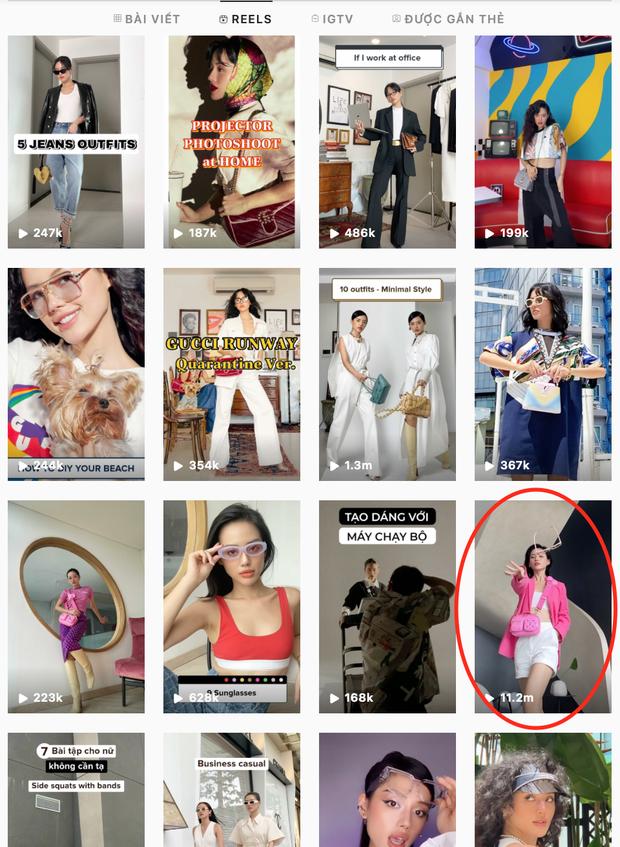 1 fashionista Việt có clip reels đạt kỷ lục hơn 11 triệu view, con số cả dàn sao Vbiz lẫn fashionista đình đám nước ngoài chưa làm được! - Ảnh 1.
