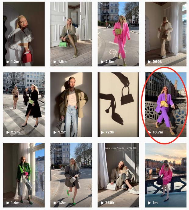 1 fashionista Việt có clip reels đạt kỷ lục hơn 11 triệu view, con số cả dàn sao Vbiz lẫn fashionista đình đám nước ngoài chưa làm được! - Ảnh 4.