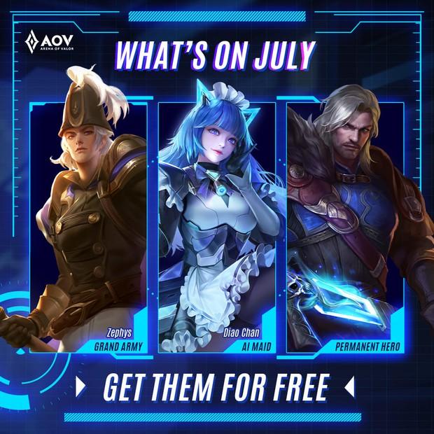 Liên Quân Mobile: Skin độc quyền AWC 2021 được tặng miễn phí toàn server, game thủ sắp có quà siêu xịn? - Ảnh 2.