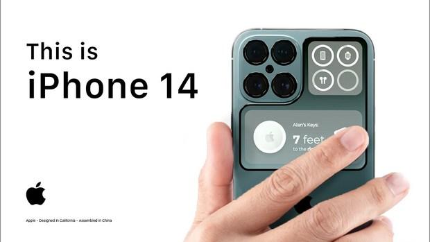 iPhone 13 chưa ra mắt đã xuất hiện hình ảnh iPhone 14 cực dị không khác mấy một chiếc smartphone từ Xiaomi - Ảnh 1.