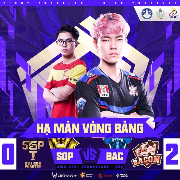 Vòng bảng AWC 2021 chính thức khép lại, đại diện Việt Nam phải gặp 2 đại kình địch Thái Lan tại Tứ kết - Ảnh 1.