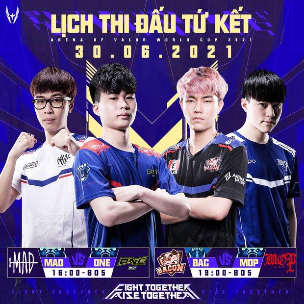 Vòng bảng AWC 2021 chính thức khép lại, đại diện Việt Nam phải gặp 2 đại kình địch Thái Lan tại Tứ kết - Ảnh 4.