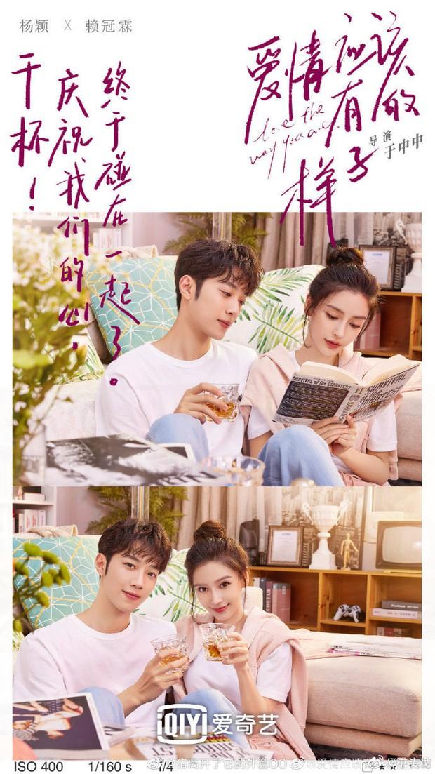 Angelababy khiến netizen sốc cực độ khi tình tứ với Lại Quán Lâm trong poster phim mới: Sao chị lại ra nông nỗi này? - Ảnh 1.