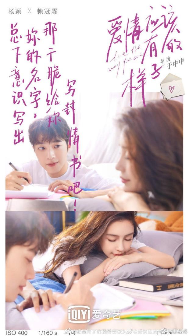 Angelababy khiến netizen sốc cực độ khi tình tứ với Lại Quán Lâm trong poster phim mới: Sao chị lại ra nông nỗi này? - Ảnh 4.