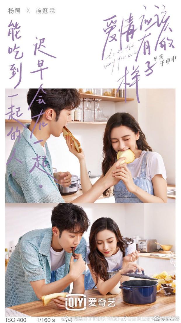 Angelababy khiến netizen sốc cực độ khi tình tứ với Lại Quán Lâm trong poster phim mới: Sao chị lại ra nông nỗi này? - Ảnh 2.