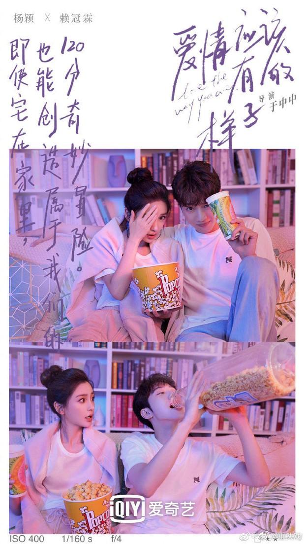 Angelababy khiến netizen sốc cực độ khi tình tứ với Lại Quán Lâm trong poster phim mới: Sao chị lại ra nông nỗi này? - Ảnh 5.