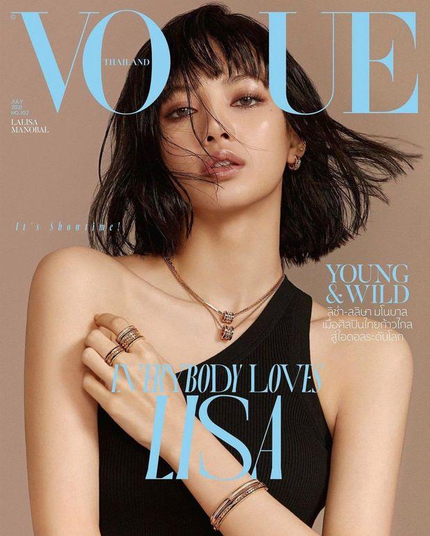 Một câu hát của Lisa (BLACKPINK) vận vào đời cô nàng cực đỉnh, netizen trầm trồ: Người chơi hệ Vogue thì ai chơi lại? - Ảnh 5.
