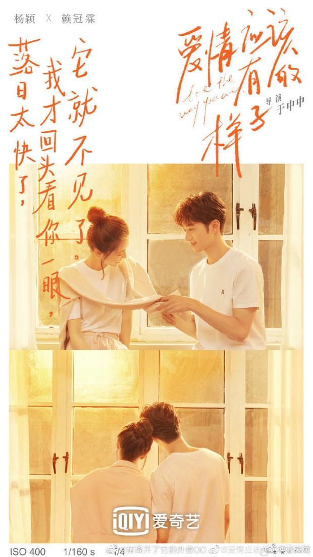 Angelababy khiến netizen sốc cực độ khi tình tứ với Lại Quán Lâm trong poster phim mới: Sao chị lại ra nông nỗi này? - Ảnh 3.
