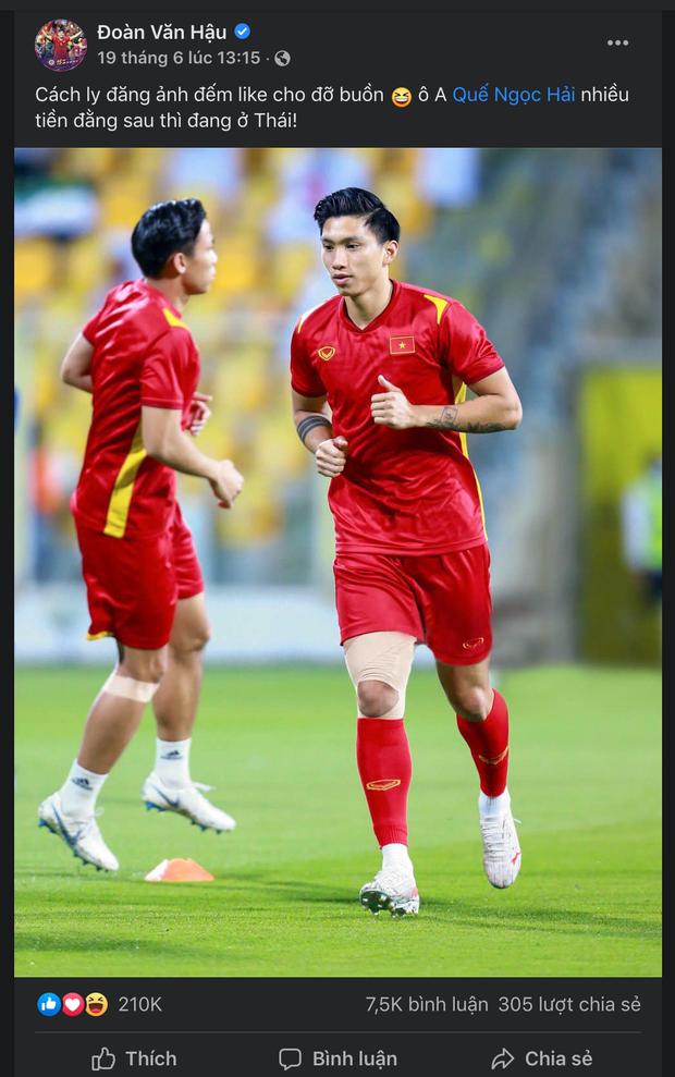Đoàn Văn Hậu vượt mặt cả Duy Mạnh, Bùi Tiến Dũng, trở thành cầu thủ Việt có lượng follower cao nhất trên Instagram - Ảnh 4.
