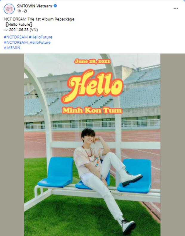 Page chính thức của SM đăng poster ghi hẳn Minh Kon Tum, thành viên NCT đã đổi nghệ danh sau thành công tại Olympia? - Ảnh 3.