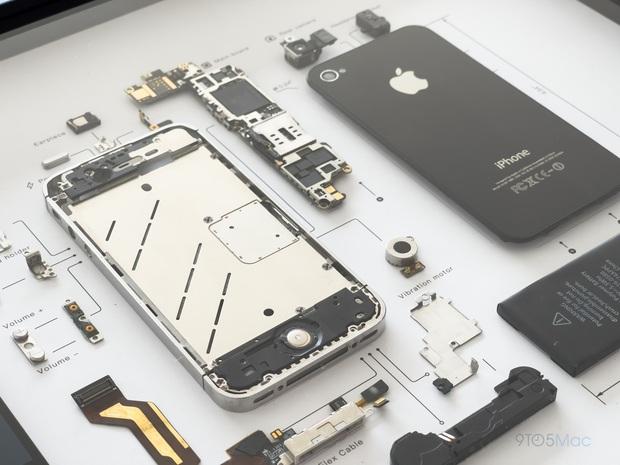 """Mổ bụng xem """"nội tạng"""" của những mẫu iPhone để thấy Apple đã tỉ mỉ và cầu toàn đến thế nào! - Ảnh 11."""