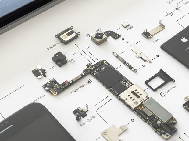 """Mổ bụng xem """"nội tạng"""" của những mẫu iPhone để thấy Apple đã tỉ mỉ và cầu toàn đến thế nào! - Ảnh 23."""