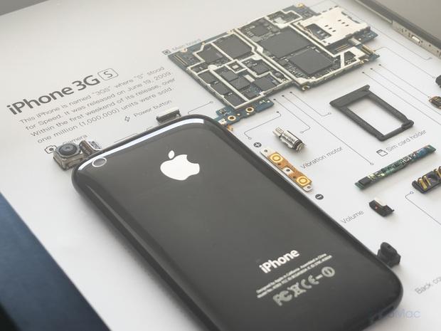 """Mổ bụng xem """"nội tạng"""" của những mẫu iPhone để thấy Apple đã tỉ mỉ và cầu toàn đến thế nào! - Ảnh 6."""