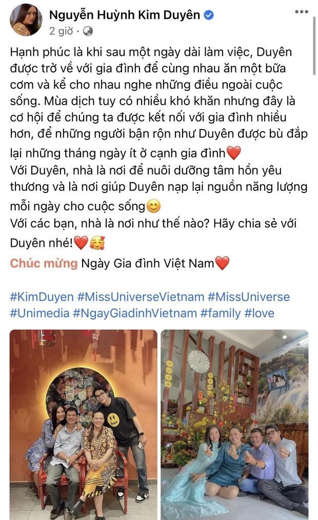 Ngập trời sao Vbiz chia sẻ nhân ngày Gia đình Việt Nam: Đoan Trang khoe hội anh em nhà người ta, H'Hen Niê - Tiểu Vy chung 1 nỗi lòng - Ảnh 8.