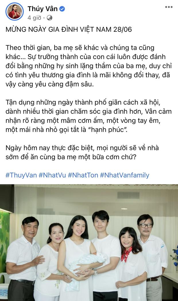 Ngập trời sao Vbiz chia sẻ nhân ngày Gia đình Việt Nam: Đoan Trang khoe hội anh em nhà người ta, H'Hen Niê - Tiểu Vy chung 1 nỗi lòng - Ảnh 10.
