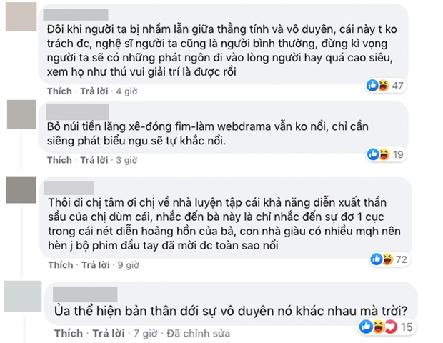 Netizen phản ứng khi Ngọc Thanh Tâm bênh vực Đoan Minh: Đừng nhầm lẫn giữa thẳng tính và vô duyên - Ảnh 4.
