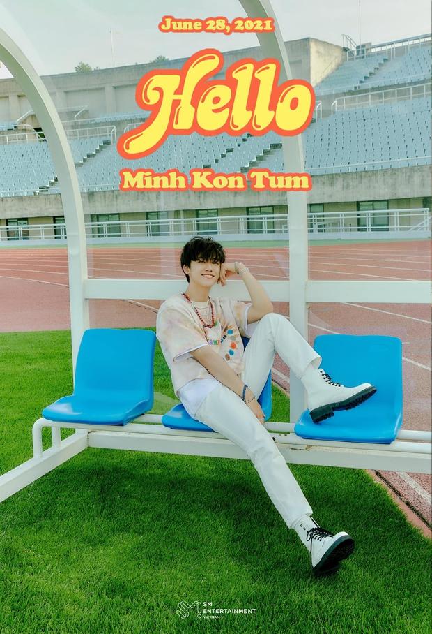 Page chính thức của SM đăng poster ghi hẳn Minh Kon Tum, thành viên NCT đã đổi nghệ danh sau thành công tại Olympia? - Ảnh 1.