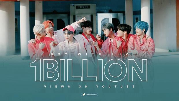 Top 5 MV Kpop đạt 1 tỷ view nhanh nhất mọi thời đại, riêng vị trí số 1 cho cả BTS và BLACKPINK hít khói - Ảnh 1.