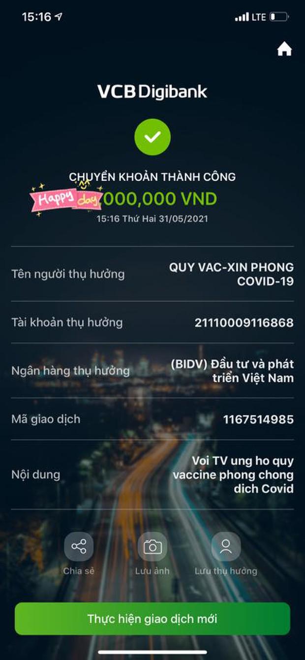 Cuối cùng đã tìm ra bằng chứng làm rõ nghi vấn Vy Oanh fake ảnh từ thiện Vaccine, số tiền cụ thể được hé lộ - Ảnh 4.