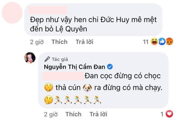 """Chỉ một câu nói rớt duyên, netizen khiến Cẩm Đan - tình tin đồn kém 27 tuổi của đại gia Đức Huy tức đến mức đòi """"thả cún"""" - Ảnh 2."""