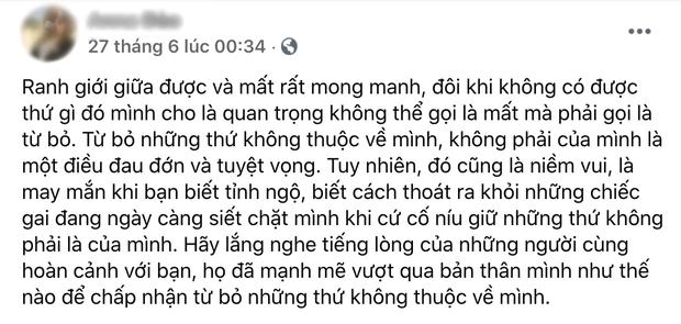 Cô Xuyến Hoàng Yến tung ảnh chồng cũ đưa con đi ăn với người tình, netizen soi Facebook cô gái thấy ngay status đá xéo? - Ảnh 5.