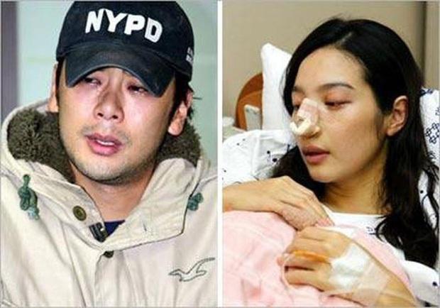Mỹ nhân Hàn bị bạo hành: Mỹ nhân Hậu Duệ Mặt Trời - Goo Hara bị đánh dã man, rùng mình Choi Jin Sil tự tử liên hoàn và sao nữ sảy thai - Ảnh 12.