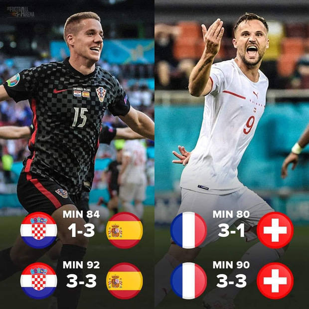 Ảnh: Cầu thủ Thuỵ Sĩ sung sướng vỡ oà sau khi loại đương kim vô địch thế giới Pháp khỏi Euro 2020 - Ảnh 1.