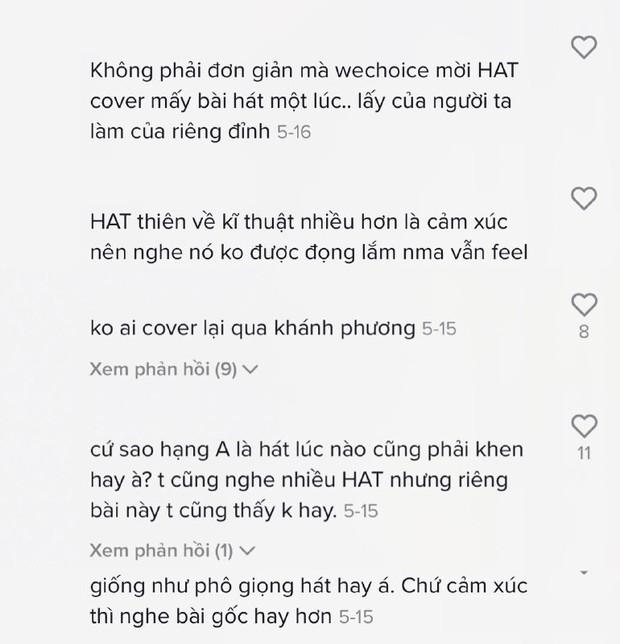 Hà Anh Tuấn cover hit huyền thoại của Khánh Phương: Người khen đẳng cấp, kẻ khịa ca sĩ hạng A toàn đi cover? - Ảnh 5.